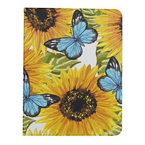 JIUCHUAN Case for iPad PRO 11 inch 2nd & 1st Generation 2020 2018 iPadPRO11inchSmartCover Bright Yellow Sunflower iPadPRO11Cases Support iPad 2nd Gen Pencil Charging