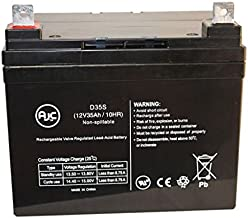 Golden Compass Sport GP605CC 12V 35Ah Wheelchair Battery - This is an AJC Brand Replacement