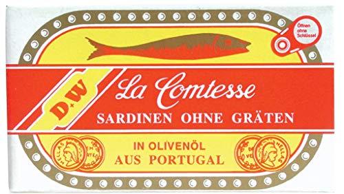 La Comtesse - Sardinen ohne Gräten in Olivenöl - 125g/88g