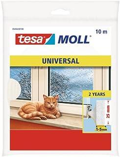 tesa 德莎 德国进口 摩尔万用I字型门窗嵌缝泡沫密封条 尺寸为10m*25mm*6mm 白色