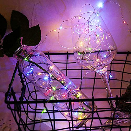 guirnalda led luces de cadena led cuento de hadas navidad boda vacaciones decoración del hogar luces de cadena A2 3m30 leds batería