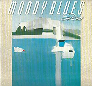 The Moody Blues: Sur La Mer LP NM Canada Polydor 835 756-1 Lyric sleeve