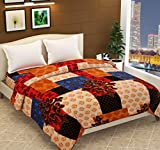 Ace N King Double Bed Soft Touch Light Weight Blanket/Warm Bedsheet for Light Winters/Summer/AC Blankets (Flano - Big Box)