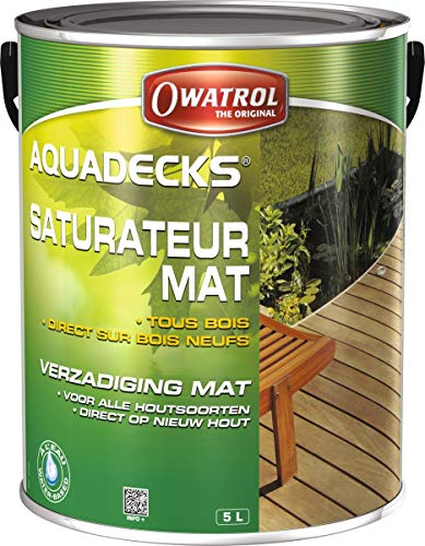 Owatrol Aquadecks 5L (Teak)