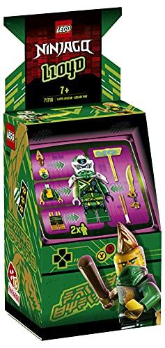LEGO Ninjago - Cabina de Juego: Avatar de Lloyd, Set de Construcción de Máquina Arcade Coleccionable con Minifigura de Lloyd, Juguete de Prime Empire, a Partir de 7 Años (71716) , color/modelo surt