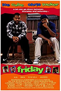 Friday Movie POSTER 27 x 40, Ice Cube, Chris Tucker, A MADE IN THE U.S.A.