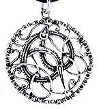MidGard Serpientes colgante grande de plata de ley 925Nº 111