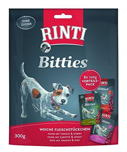 RINTI EXTRA Bitties Multipack mit 3 Sorten 3x100g Größe 1 x 300g