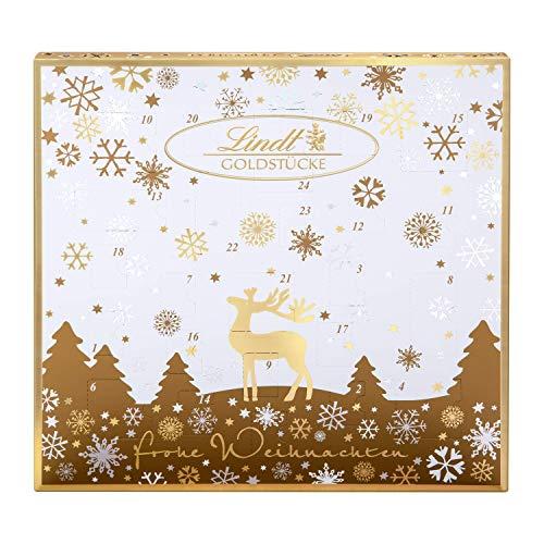 Lindt Goldstücke-Adventskalender (24 verschiedene Schokoladen-Überraschungen) 156g