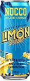 NOCCO BCAA Límon Del Sol 24 x 330ml Bebida energética funcional sin azúcar No Carbs Company Enriquecida con vitaminas Con o sin cafeína Bebidas funcionales de sabores para la salud