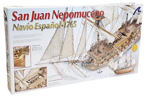 Artesanía Latina 22860. Maqueta de barco en madera San Juan