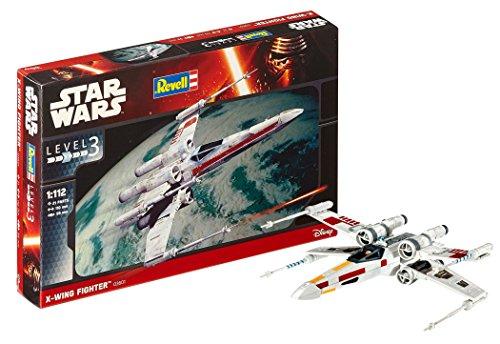 Revell- X-Wing Fighter Kit di Modelli in plastica, Multicolore, 03601