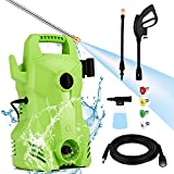 Homdox 2200PSI Pressure Washer,1400W Portable Power Washer with Adjustable Spray Nozzle, 1.5 GPM Electric Power Washer Pressure Cleaner for Cars/Fences/Patios