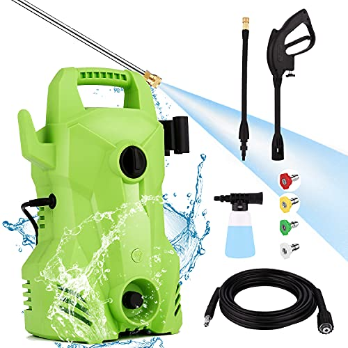 Homdox 2200PSI Pressure Washer,1400W Portable Power Washer with...