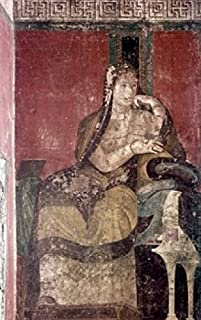 Italy Pompeii Villa of the Mysteries The Domini (Initiated Bride) fresco 50 BCE Poster Print (24 x 36)