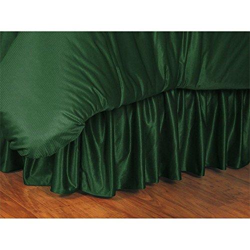 NCAA Michigan State Spartans Bed Skirt, King, Dark Green