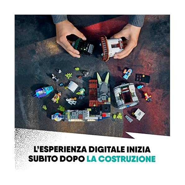 LEGO-Hidden-Side-il-Faro-Delle-Tenebre-Dai-la-Caccia-ai-Fantasmi-Nella-Realt-Aumentata-in-Modalit-Single-o-Multiplayer-Multicolore-70431