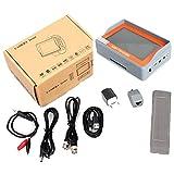 3en 1probador de AHD 4.3TFT-LCD probador de TVI CCTV Vídeo analógico Medidor de Prueba, cable de prueba
