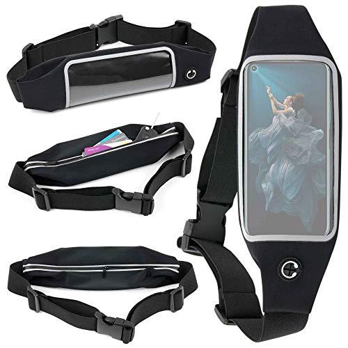 DURAGADGET Ceinture de Sport réglable pour Honor 20/20 Lite / 20 Pro, OnePlus 7, 7T et 7 Pro, 7T Pro Smartphone - écran Tactile + Poche Interne