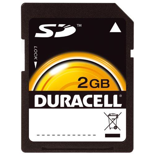 of duracell micro sd cards Duracell 2 GB SD Flash Memory Card DU-SD-2048-C