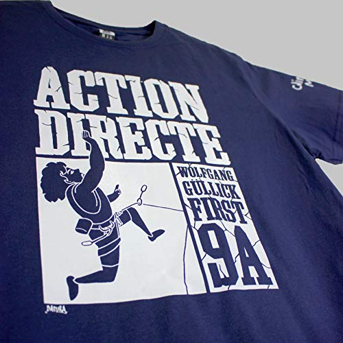 Action Directe 9a - Camiseta de Escalada