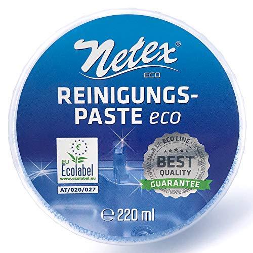 Merx - Pasta pulente ecologica, prodotto naturale biodegradabile, per fornelli, pentole, padelle e lavabi, etichetta EU ECO