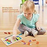 Zoom IMG-1 seekool tetris giochi legno puzzle
