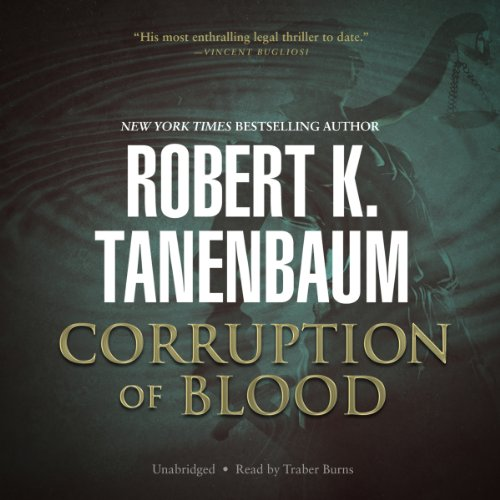 Corruption of Blood audiobook cover art