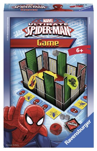 Preisvergleich Produktbild Ravensburger 23385 - The Ultimate Spider-Man Game - Mitbringspiel