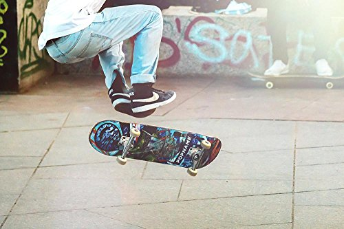 LAMINATED 36x24 inches POSTER: Skateboarder Man Boy Skateboard Skateboarding Action Person Board Skater Lifestyle Skating Young Fun Longboard Jump Outdoor Sport Teenager Style Street Urban Guy