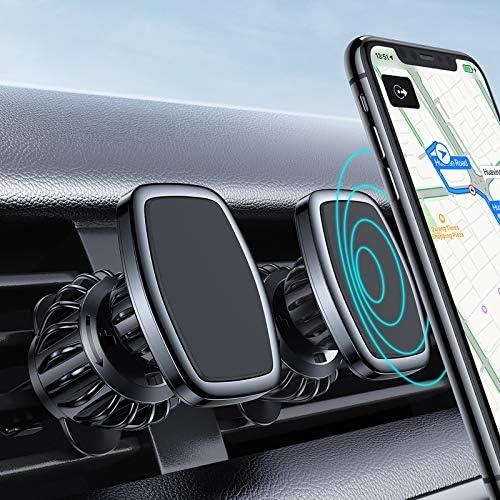 2 Pack LISEN Car Phone Mount Magnetic Phone Car Holder Mount 6 Strong Magnet Upgraded Clip Magnetic product image