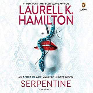 Serpentine audiobook cover art