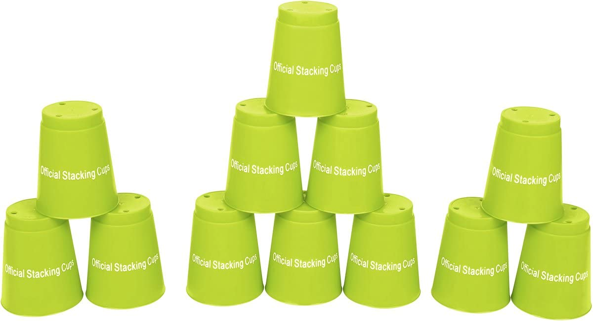 Quick Stack Cups - Set of Soldering Trademark By 12 Classic Stacking Sport