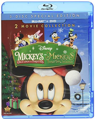 Mickey's Once Upon A Christmas and Mickey Twice Upon Christmas [Blu-ray]