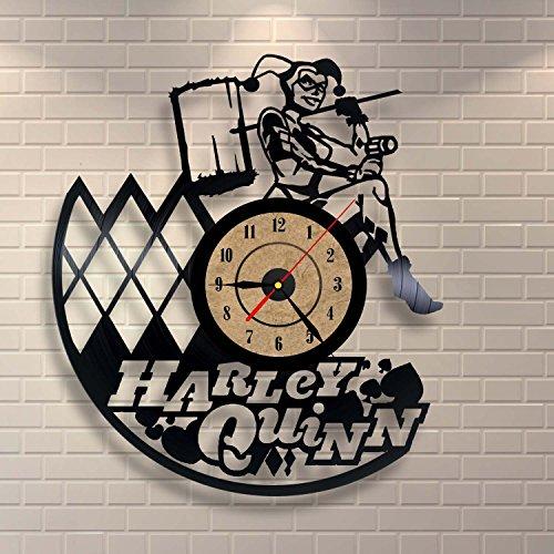 517VZ-ODFkL Harley Quinn Clocks