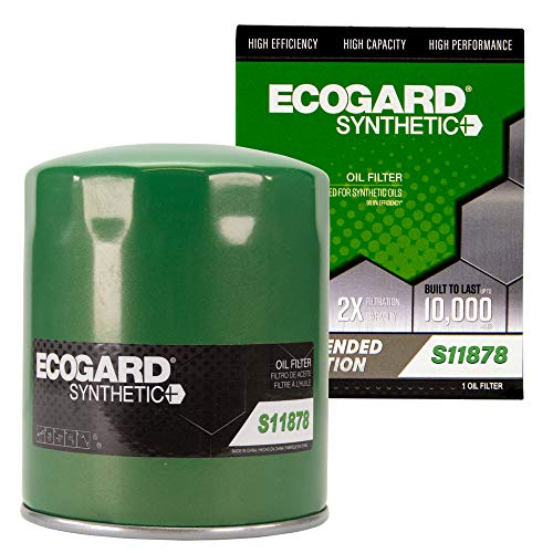 ECOGARD S11878 Premium Spin-On Engine Oil Filter...