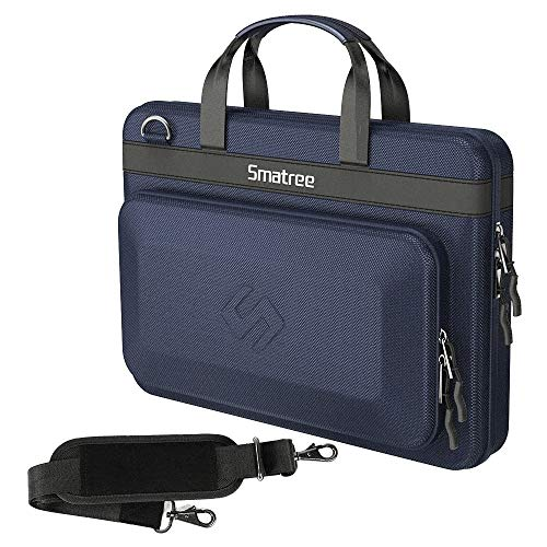 """Smatree Hard Carry Case Compatible for 16 inch MacBook Pro/ 15.4 inch MacBook Pro 2019 2018/15.6"""" Dell Inspiron/ 15.6"""" Lenovo Thinkpad (Blue)"""