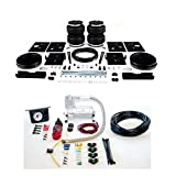 Air Lift 88289 25655 Rear Set of Load Lifter 5000 Ultimate Series Air Springs with Load Controller I Single Needle On-Board Air Compressor System Bundle for Ram Dodge