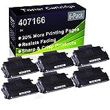 Paquete de 6 cartuchos de impresora láser Aficio SP100 SP100E SP100SU SP100SF SP112 SP112SU SP112SF (alta capacidad) de repuesto para cartucho de impresora Ricoh 407166