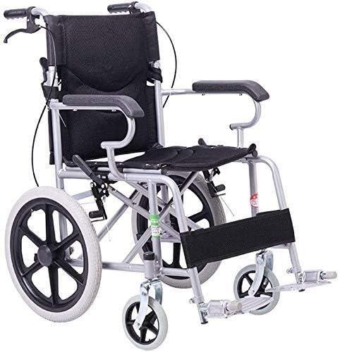 Max 58% OFF JKCKHA Steel Phoenix Mall Wheelchair-Folding Portable Wheelchair with Adjusta