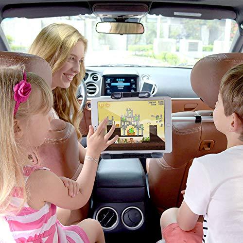 Tablet Mount Holder iKross Universal Tablet Car Backseat Headrest Extendable Mount Holder For Apple iPad Pro 10.5, iPad Pro 9.7, iPad Air / Mini, Samsung Galaxy Tab, and 7 - 10.2-inch Tablet - Black