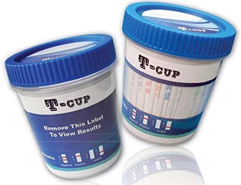 5 Panel 2021 autumn and winter new Integrated Multi Drug Urine COC T-Cup Test AMP THC OPI Los Angeles Mall