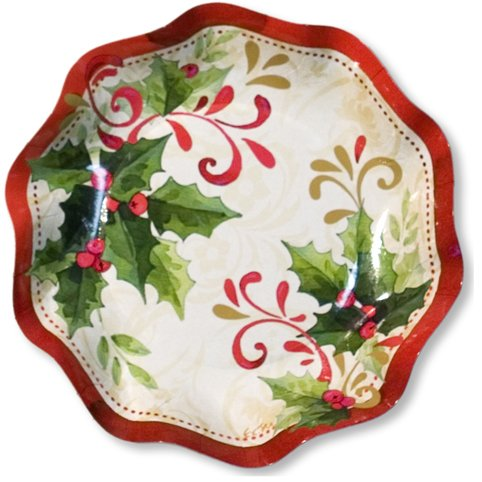 EX.XTRA Piatto Coppetta Tradition 10Pz diam.18,5cm