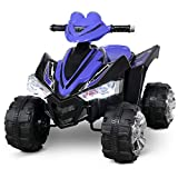 Kidzone Kids Ride On ATV Car 12V Battery Powered Electric 4-Wheeler 2 Speed Kid...