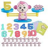 Math Games Monkey Balance Kids Stem Toys for 3 4 5 6 Year