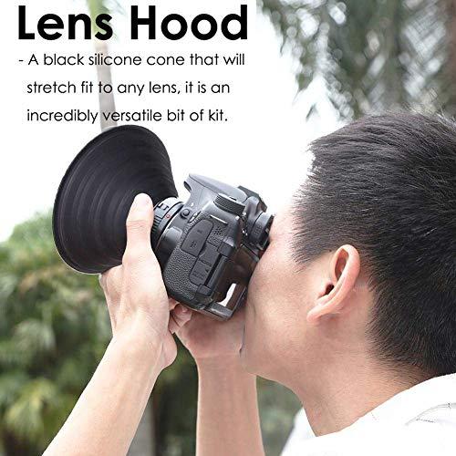Yanten Kamera-Gegenlichtblende Reflektierende Kamera-Gegenlichtblende Reflektierende Silikon-Gegenlichtblende