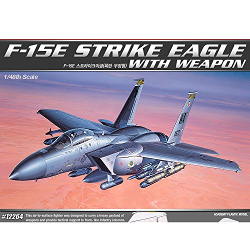 Price comparison product image 1 / 48 F-15E Strike Eagle With Weapon 12264