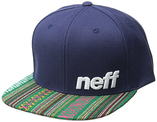 Neff Daily Pattern Cap Lime/Black Einheitsgröße Navy Native
