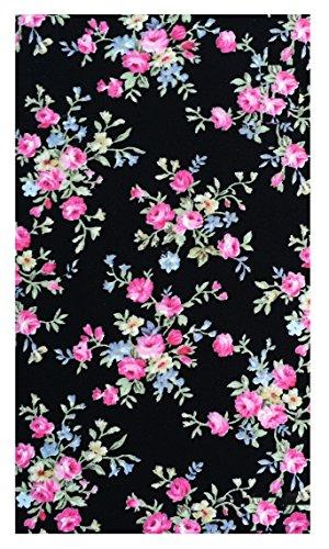 Home & Kitchen Flowers Cotton Guest Check Presenter for Restaurant, Check Holder, Restaurant Server Book, Waitstaff Organizer (With Plastic Cover)