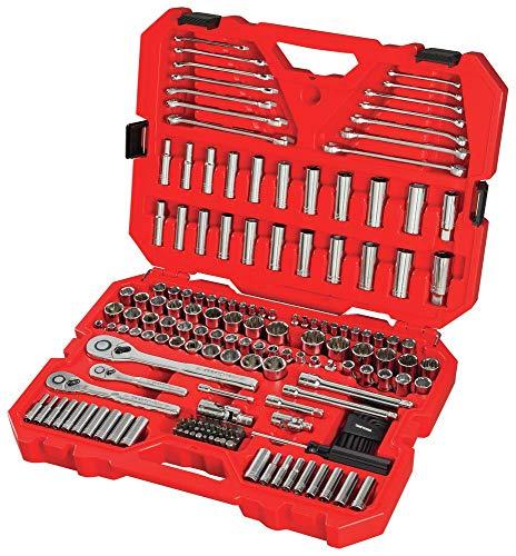 CRAFTSMAN – Juego de herramientas mecánicas SAE/métrica, 189 piezas (CMMT12034)